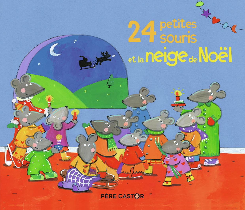 24 PETITES SOURIS ET LA NEIGE DE NOEL