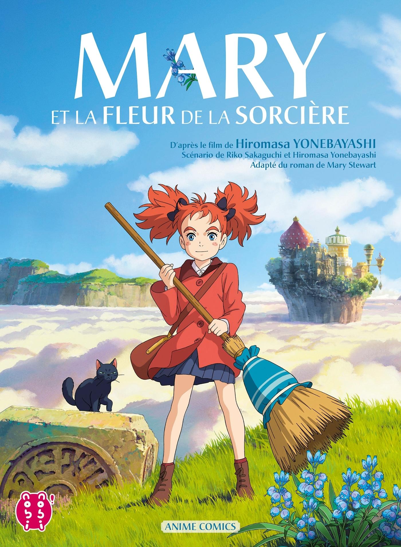 MARY ET LA FLEUR DE LA SORCIERE - ANIME COMICS