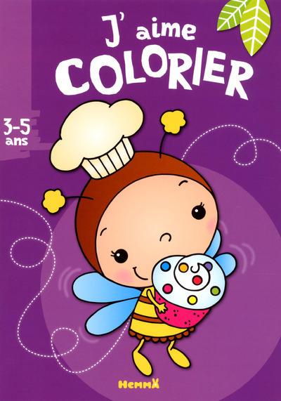J'AIME COLORIER (3-5 ANS) (ABEILLE CUPCAKE)