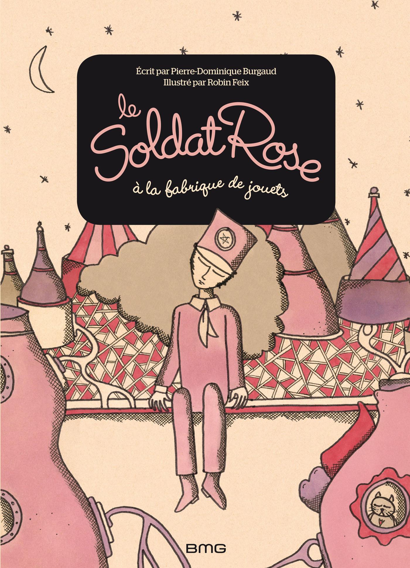 SOLDAT ROSE A LA FABRIQUE DE JOUETS (GRAND FORMAT)