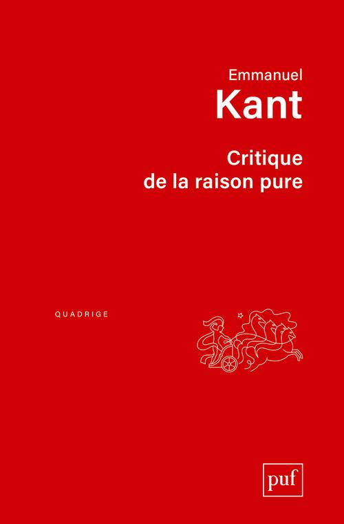 CRITIQUE DE LA RAISON PURE (8ED) - TRADUCTION FRANCAISE AVEC NOTES PAR A. TREMESAYGUE