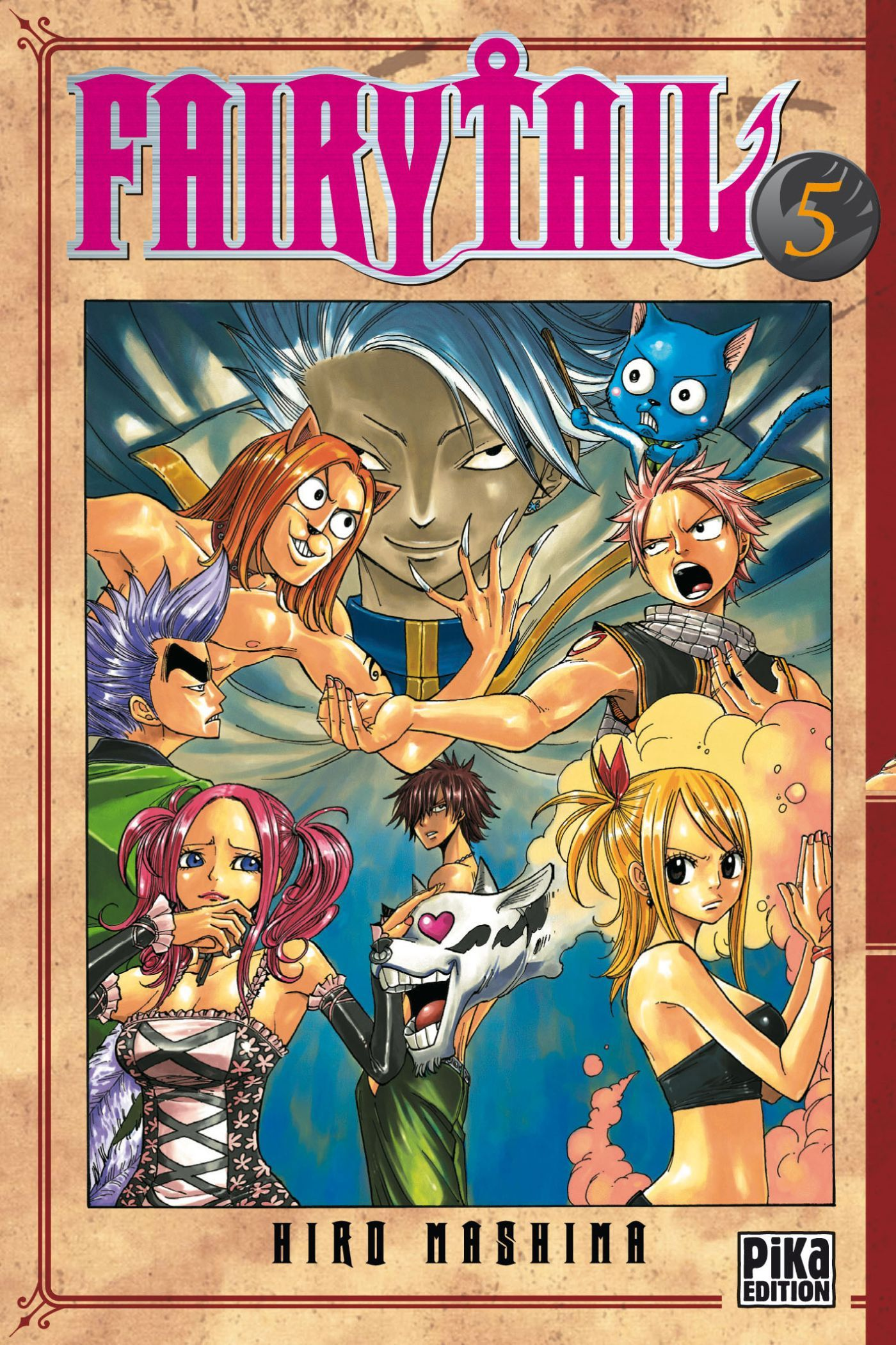 FAIRY TAIL T05
