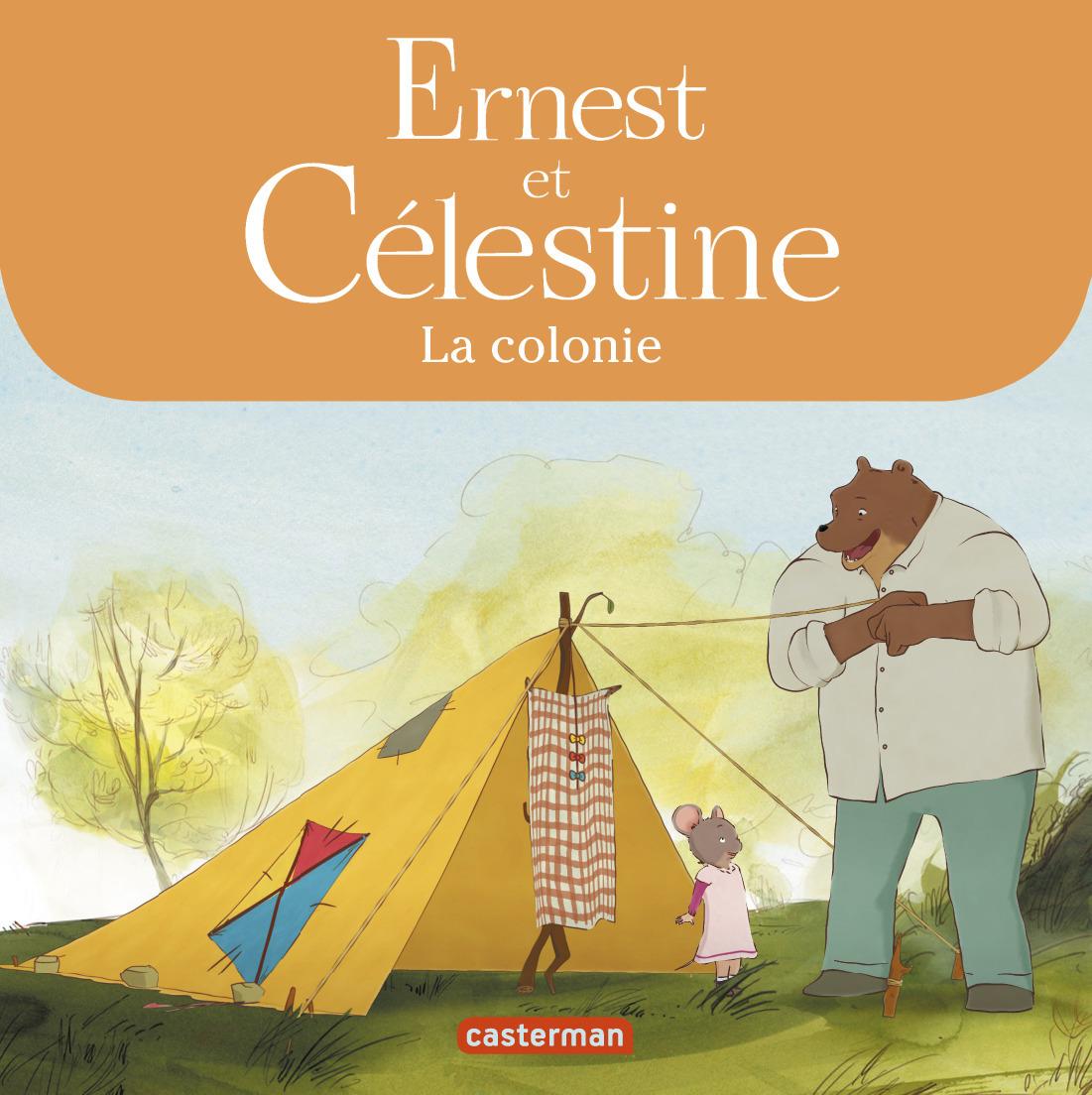 ERNEST & CELESTINE - CELESTINE PART EN COLONIE