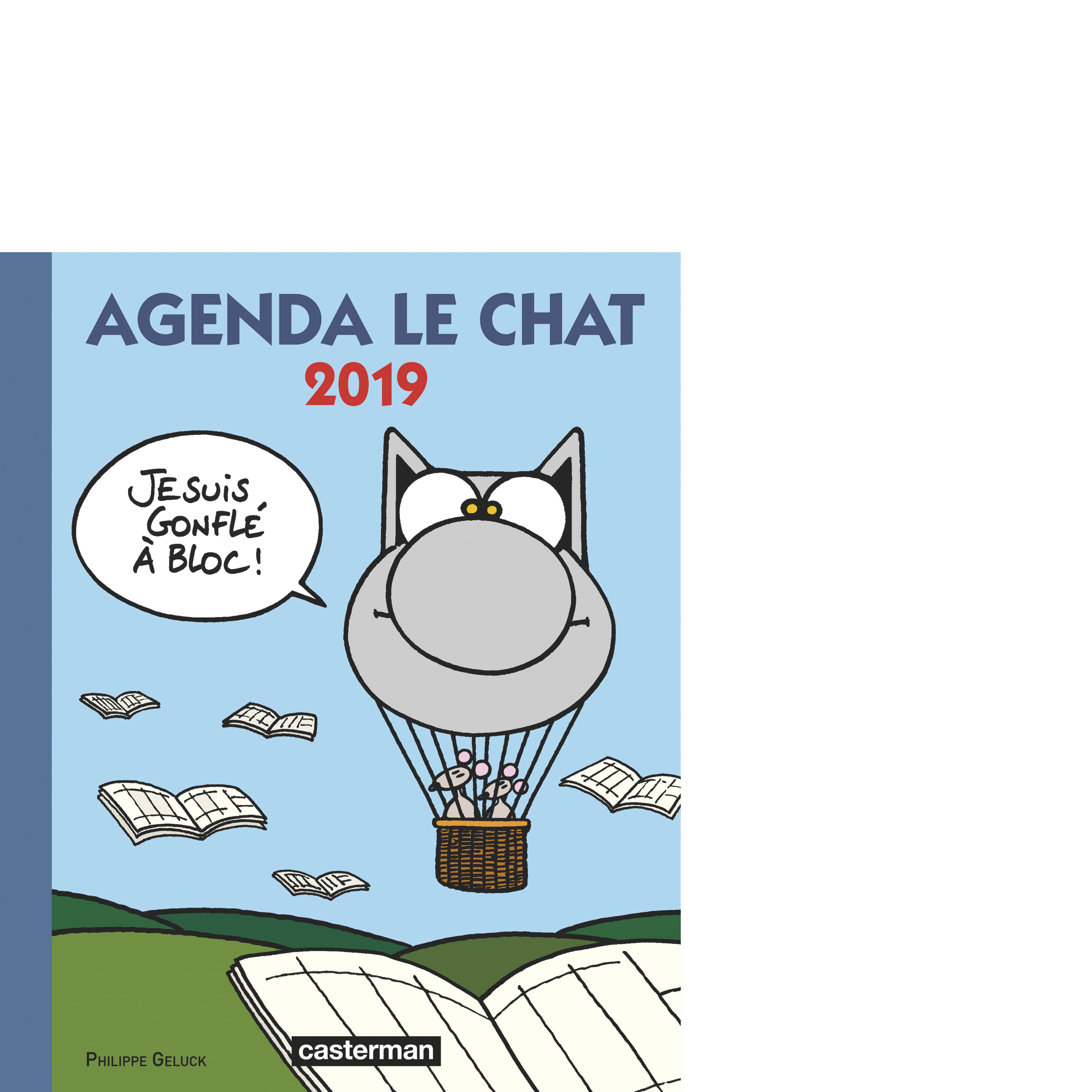 PAPETERIE - AGENDA LE CHAT 2019