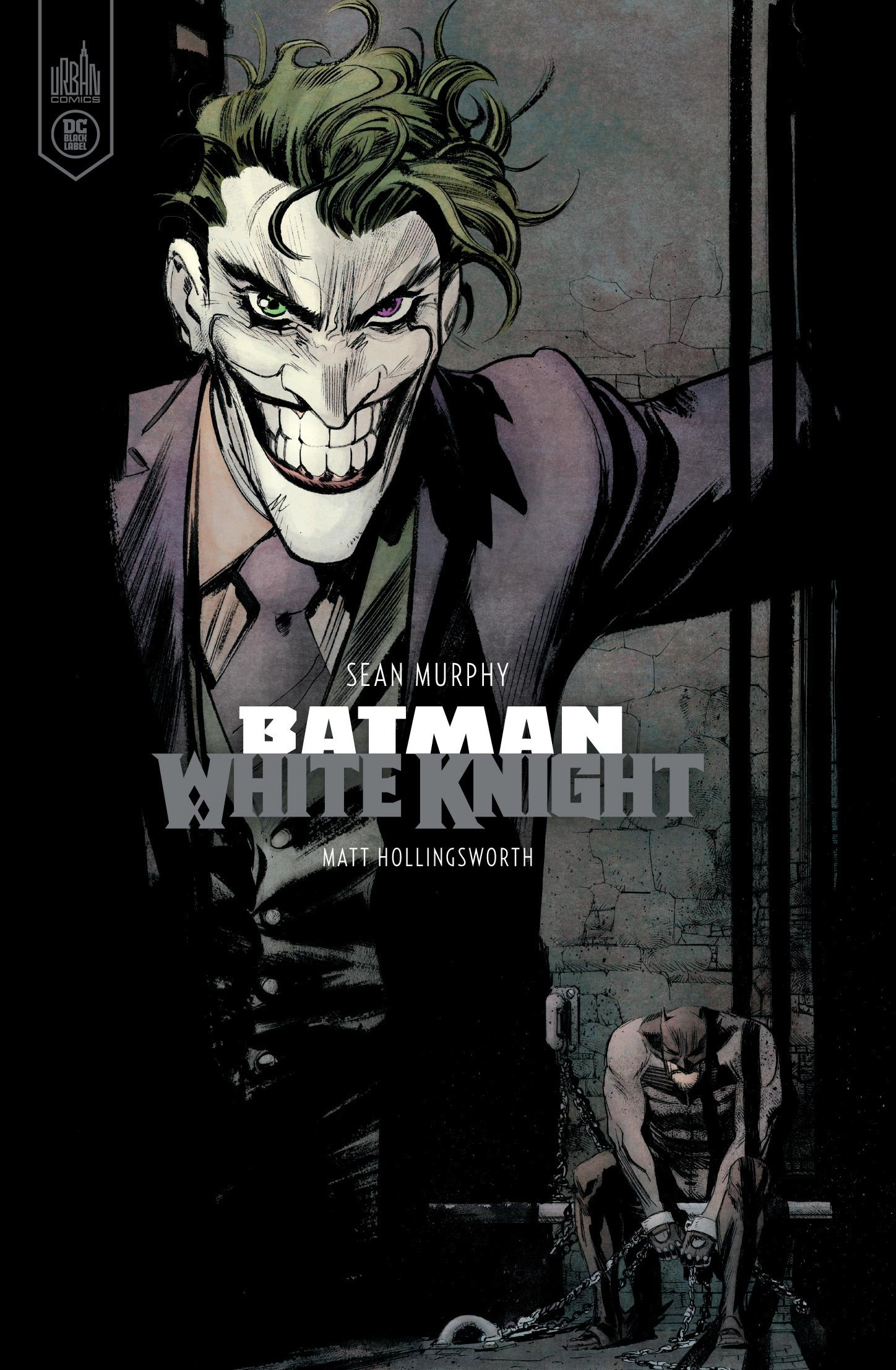 BATMAN WHITE KNIGHT - VERSION COULEUR - DC BLACK LABEL