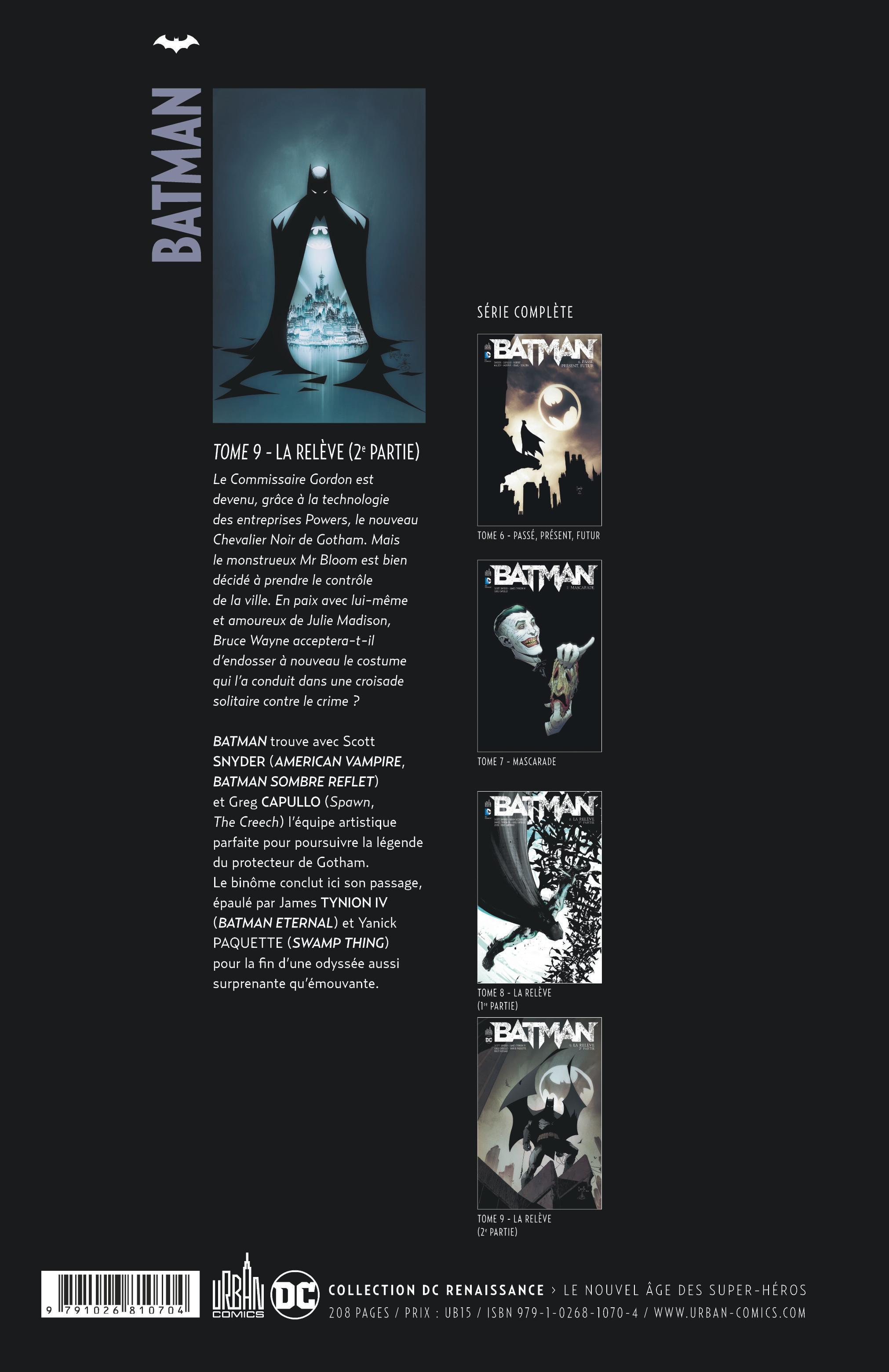 BATMAN TOME 9