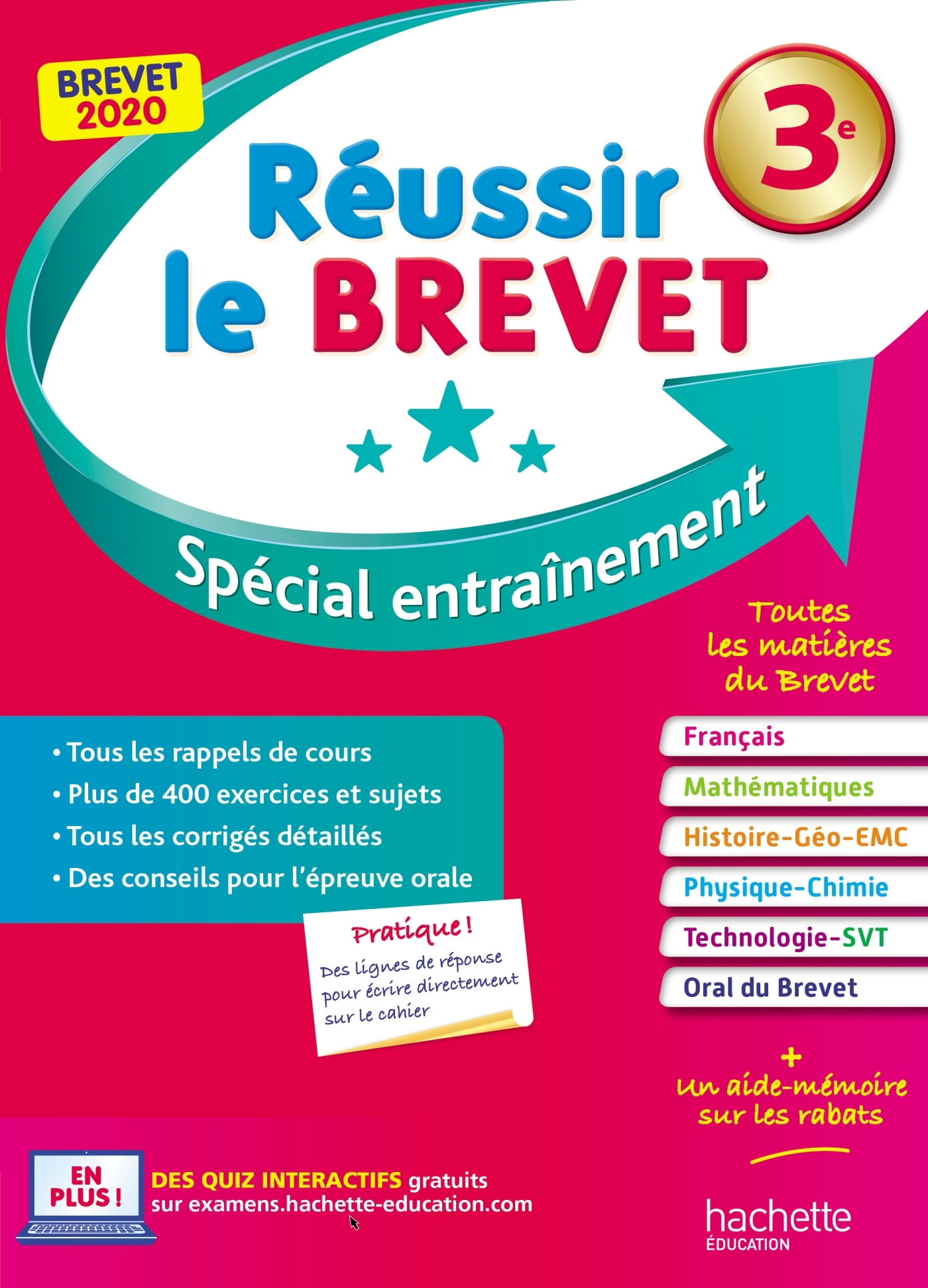 REUSSIR LE BREVET : NOUVEAU BREVET 3E 2019