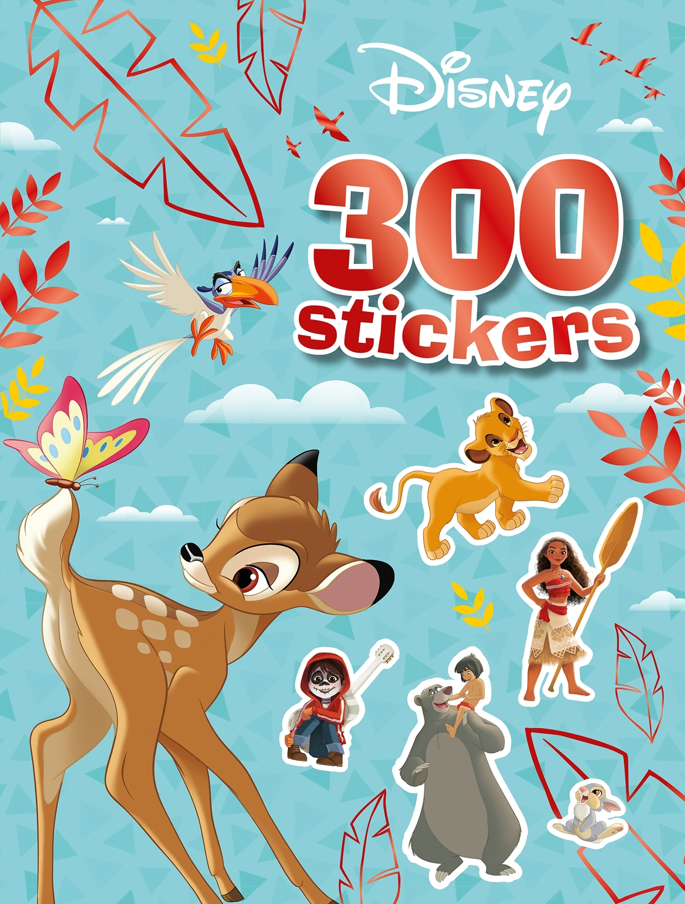 DISNEY - 300 STICKERS