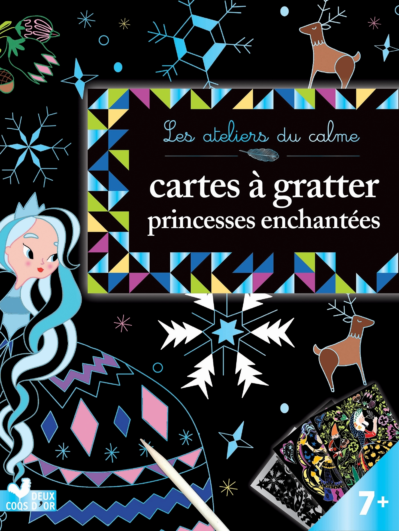CARTES A GRATTER - PRINCESSES ENCHANTEES