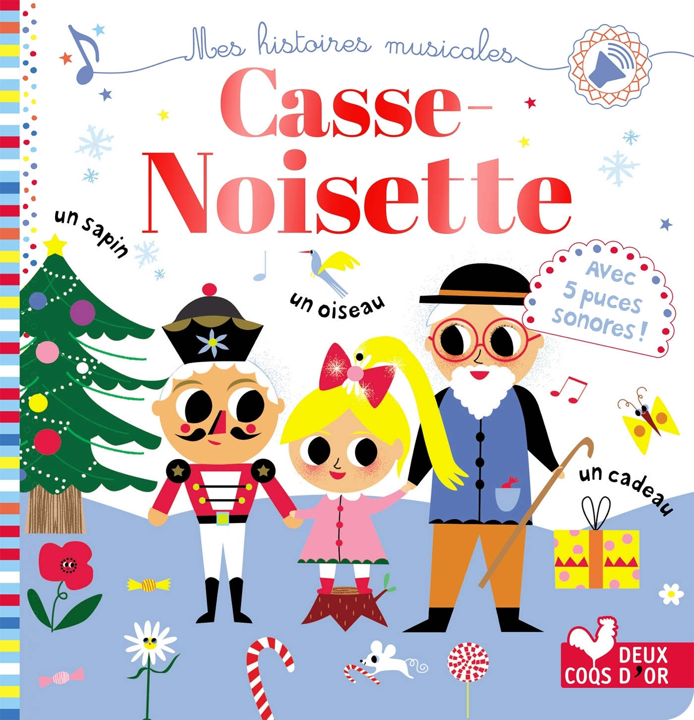 CASSE NOISETTE - LIVRE SONORE