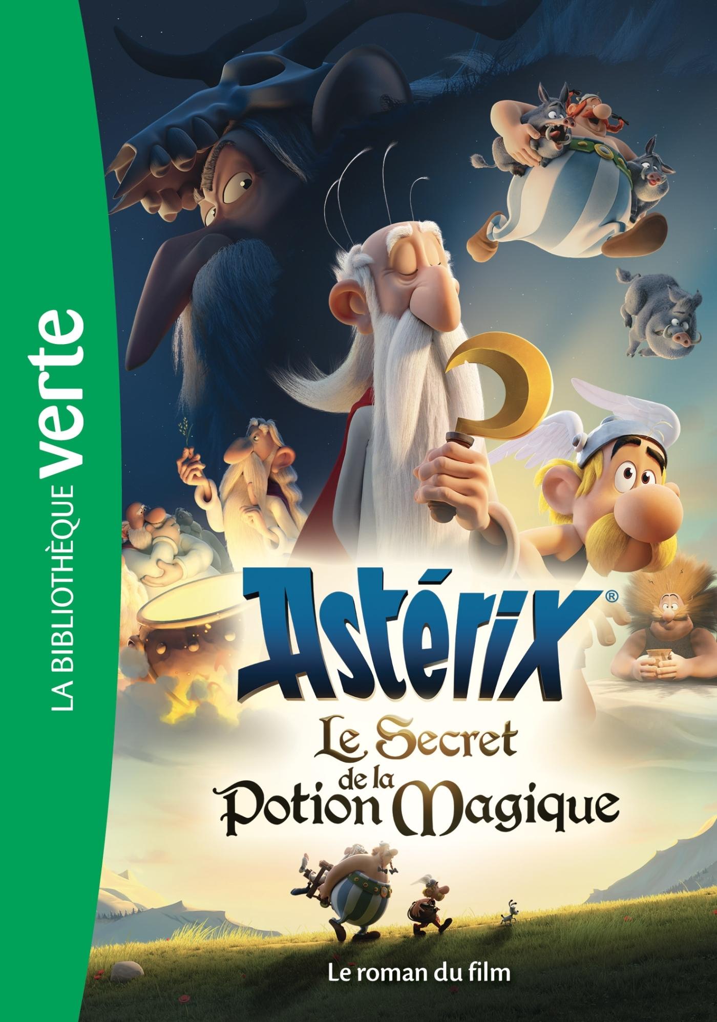 ASTERIX, LE SECRET DE LA POTION MAGIQUE - LE ROMAN DU FILM - FILMS BB VERTE 8-10 - T0