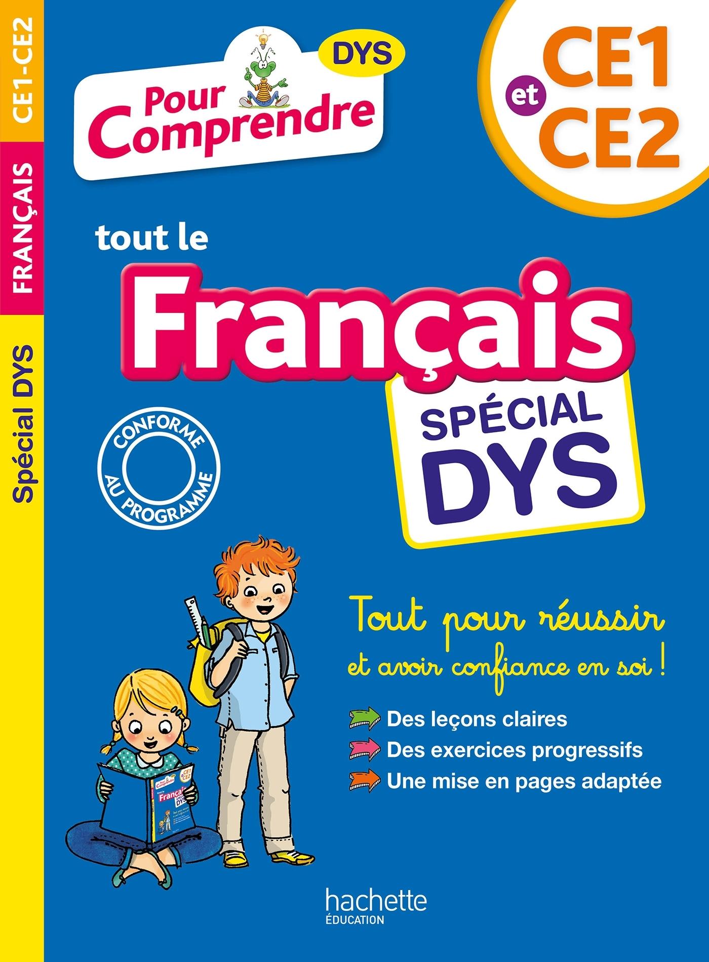 POUR COMPRENDRE FRANCAIS CE1-CE2 - SPECIAL DYS