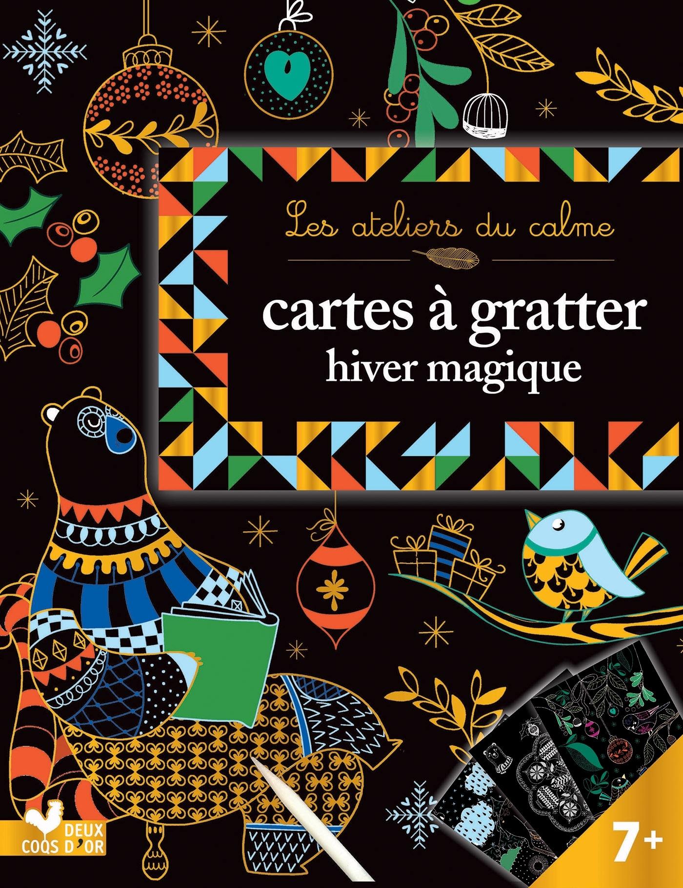 CARTES A GRATTER - HIVER MAGIQUE