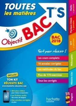 OBJECTIF BAC 2018 - TOUTES LES MATIERES TERM S