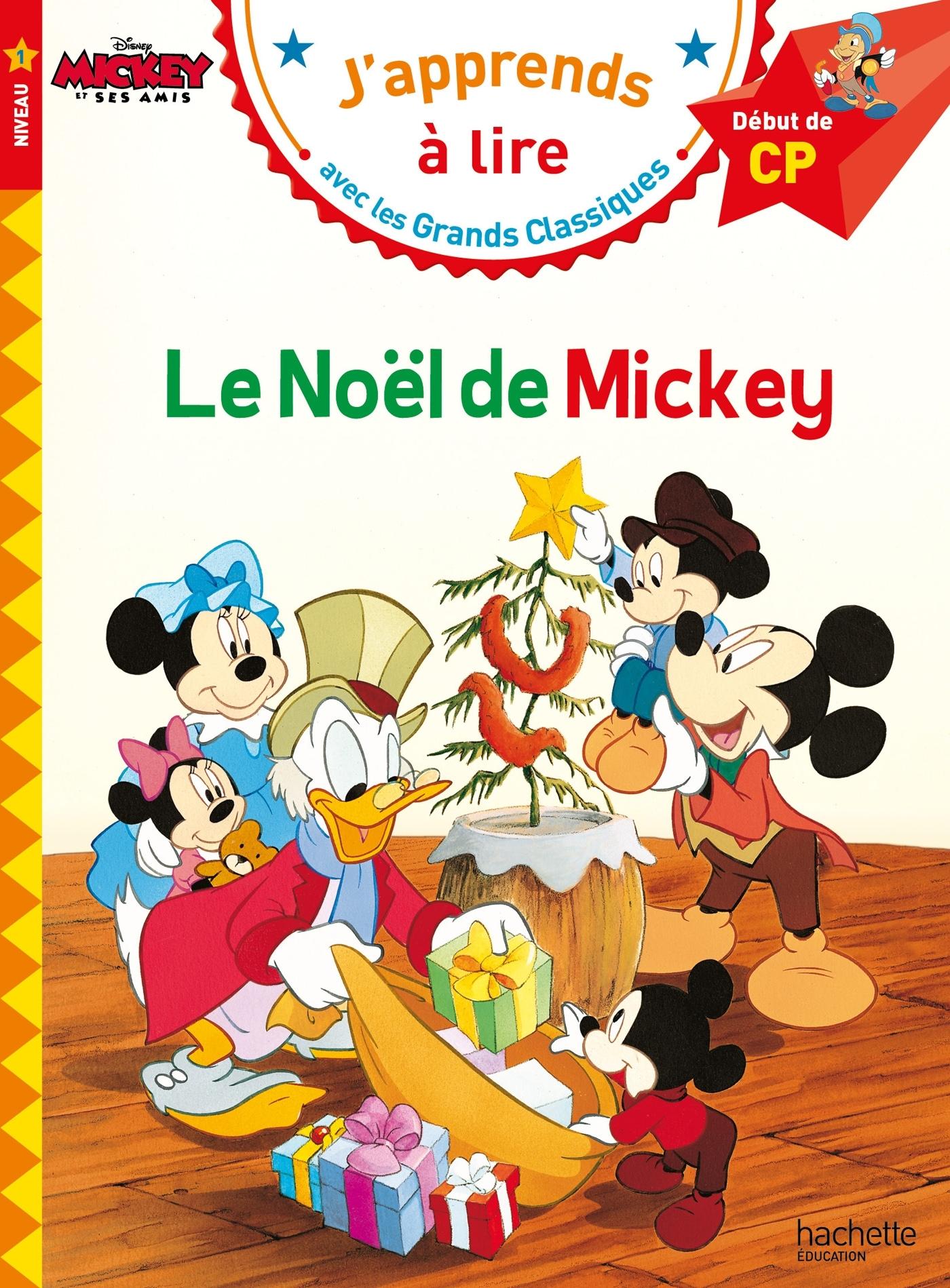 LE NOEL DE MICKEY CP NIVEAU 1