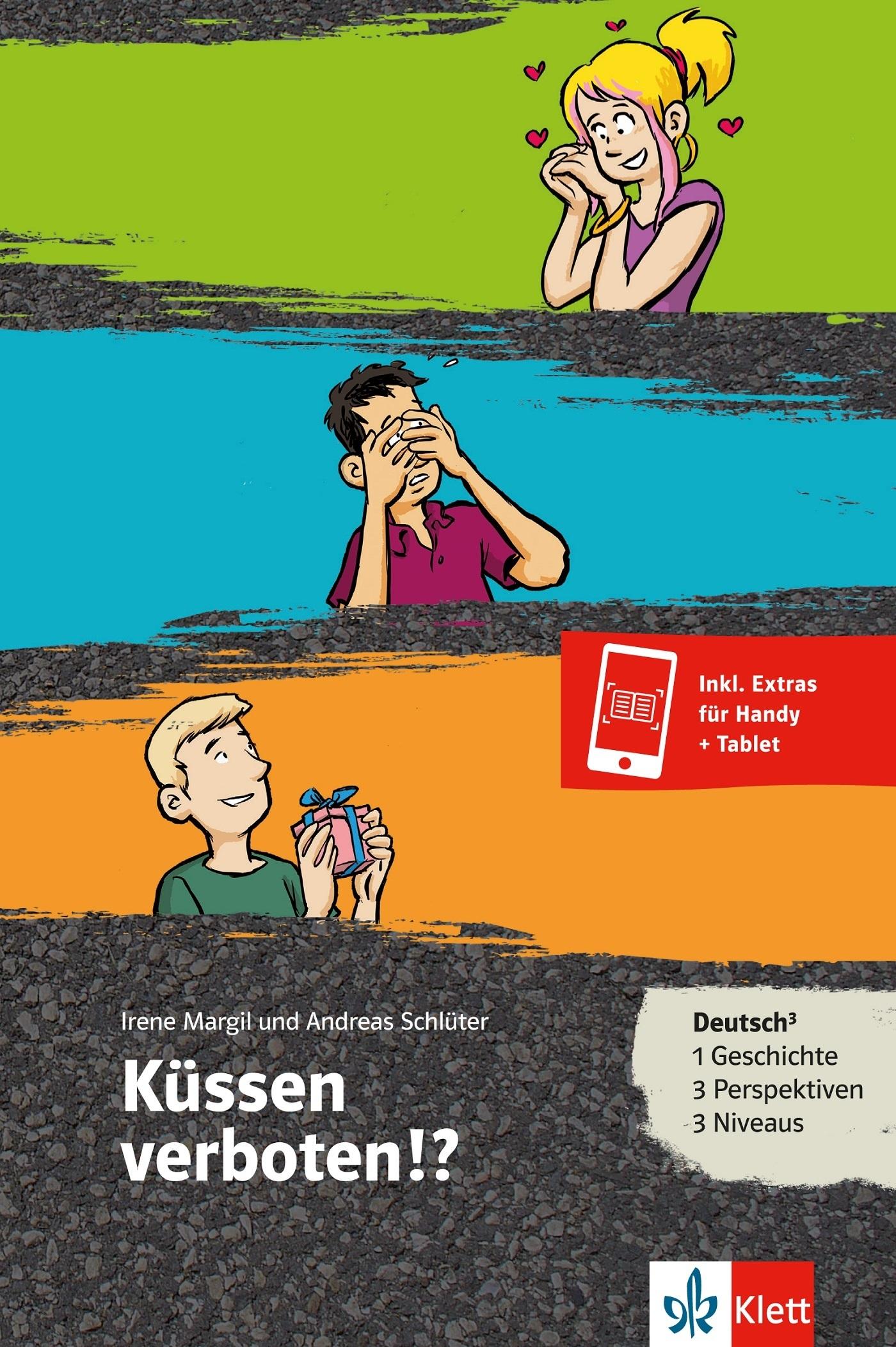 KUSSEN VERBOTEN!? (NIVEAU A1-B1) - LIVRE + MP3 TELECHARGEABLE