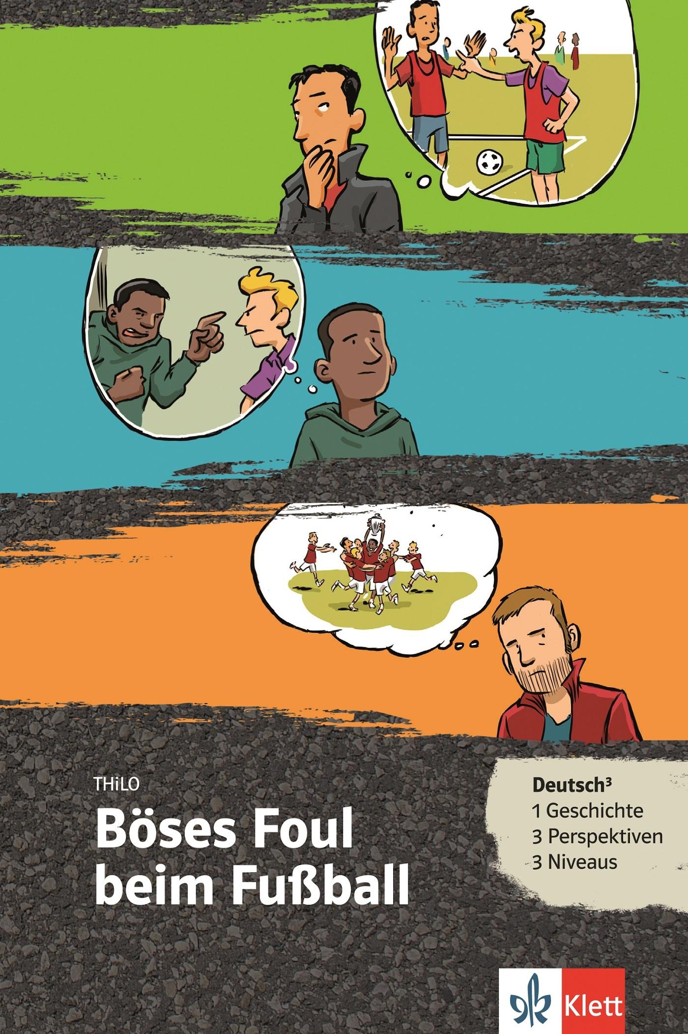 BOSES FOUL BEIM FUSSBALL (NIVEAU A1-B1) - LIVRE + MP3 TELECHARGEABLE