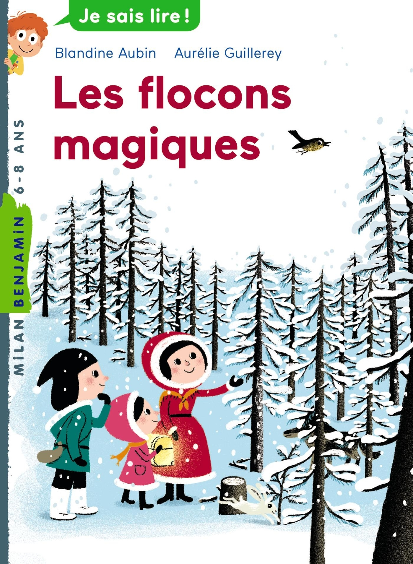 MILAN BENJAMIN - 107 - LES FLOCONS MAGIQUES