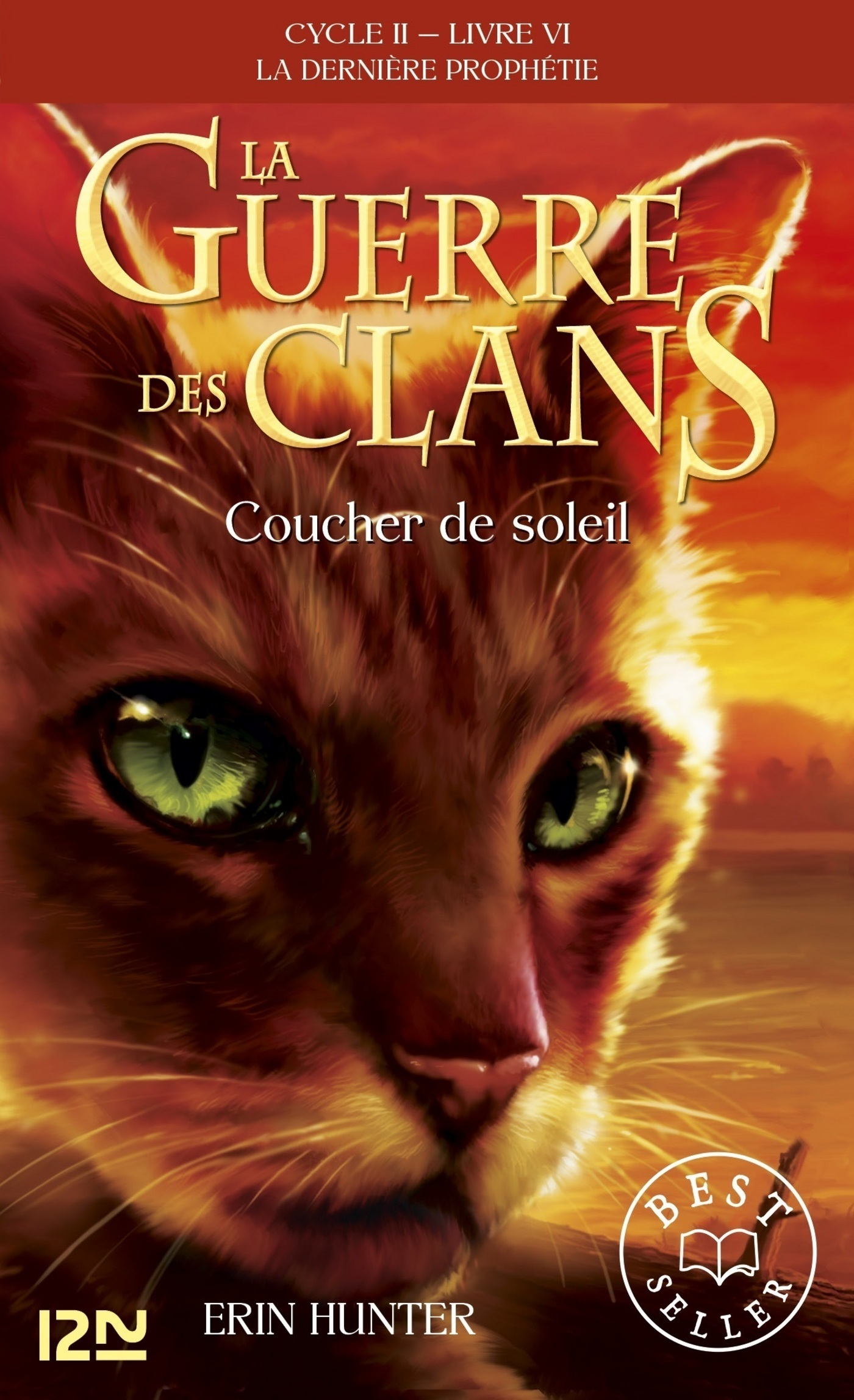 La guerre des clans II - La dernière prophétie tome 6, COUCHER DE SOLEIL