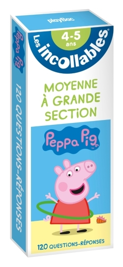 INCOLLABLES - REVISE AVEC PEPPA PIG - DE LA MS A LA GS