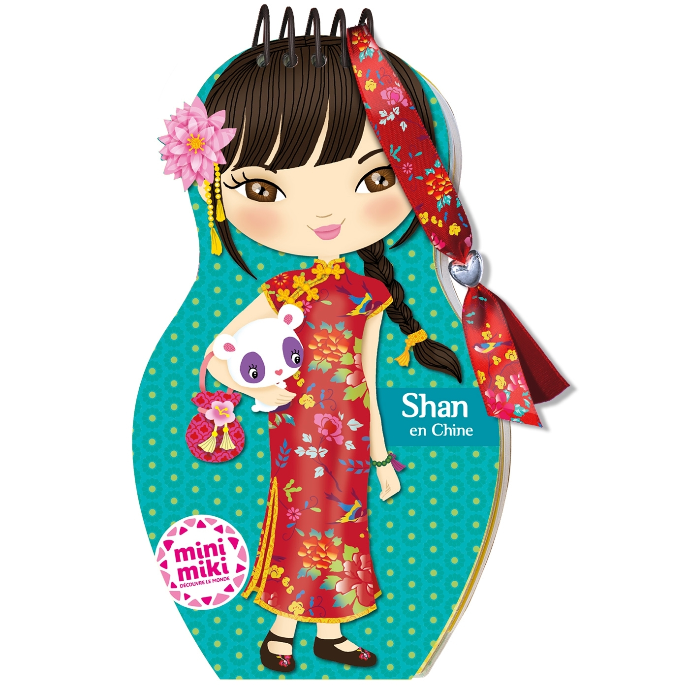 MINIMIKI - CARNET CREATIF - SHAN EN CHINE