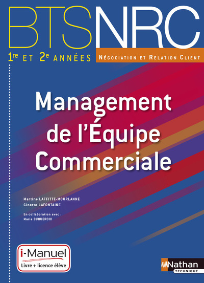 MANAG EQUIPE COMMERC BTS NRC