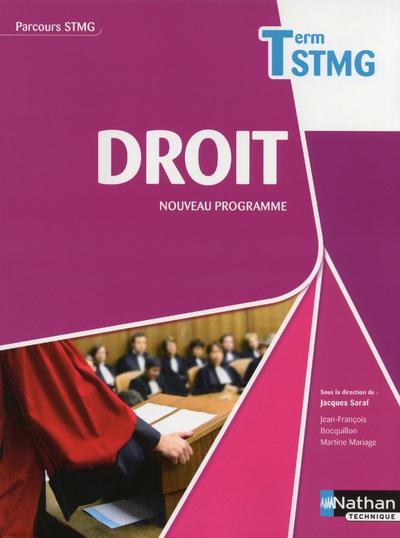 DROIT TERM STMG (PARCOURS STMG