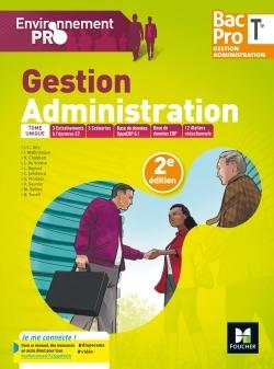 ENVIRONNEMENT PRO - GESTION ADMINISTRATION TLE BAC PRO GA - ED. 2017 - MANUEL ELEVE