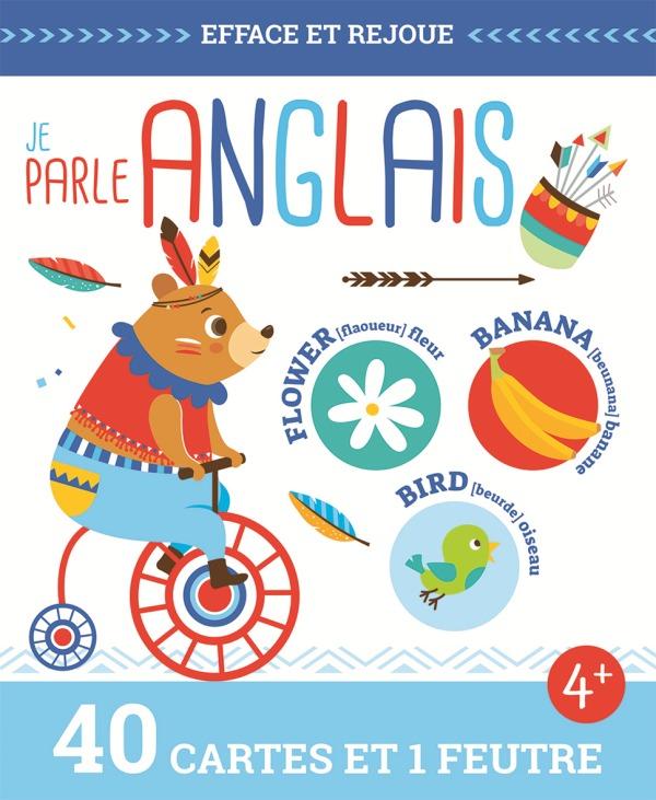 JE PARLE ANGLAIS (COLL. EFFACE ET REJOUE !)