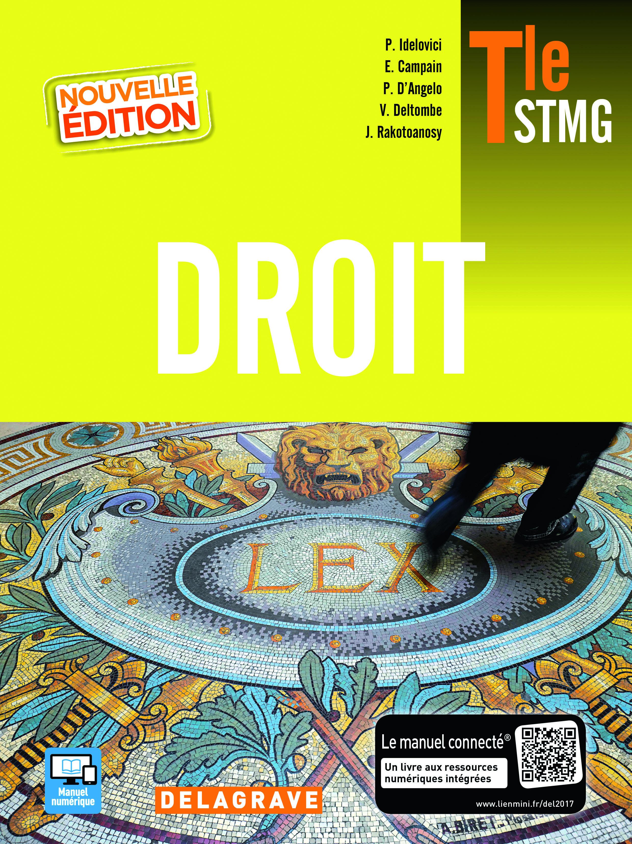 DROIT TLE STMG ELEVE 2017