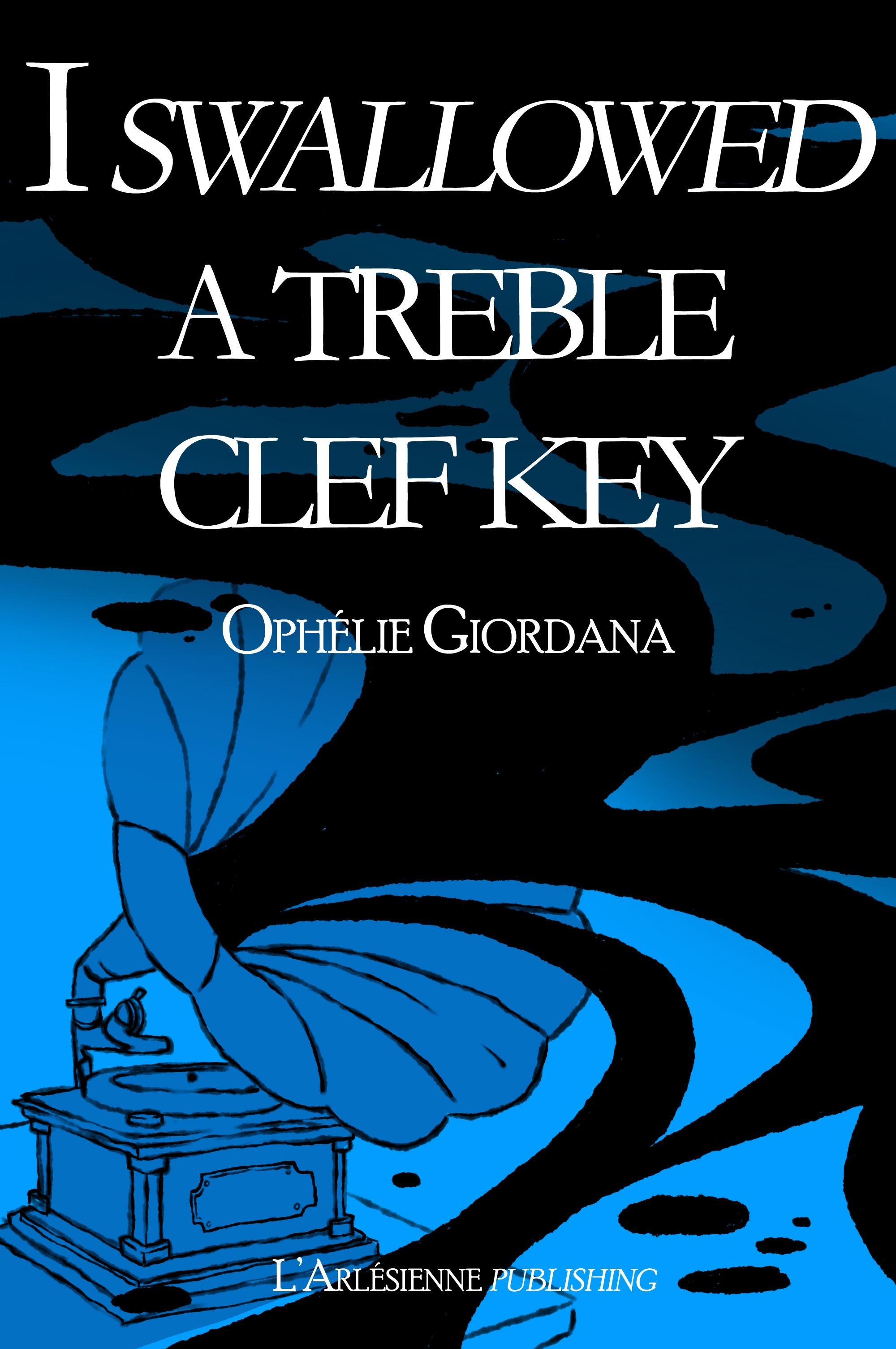 I swallowed a treble clef key