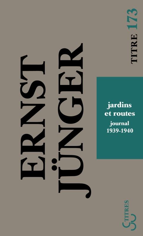 JARDINS ET ROUTES JOURNAL 1939-1940