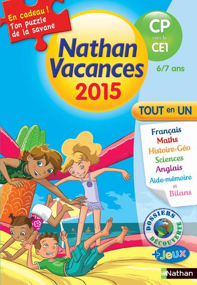 CAHIER DE VACANCES 2015 PRIMAIRE DU CP VERS LE CE1
