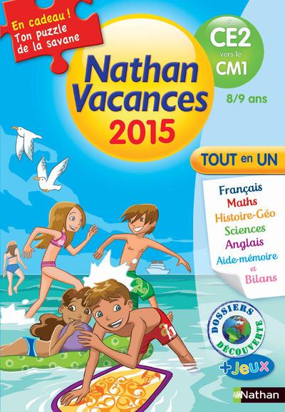 CAHIER DE VACANCES 2015 PRIMAIRE DU CE2 VERS LE CM1