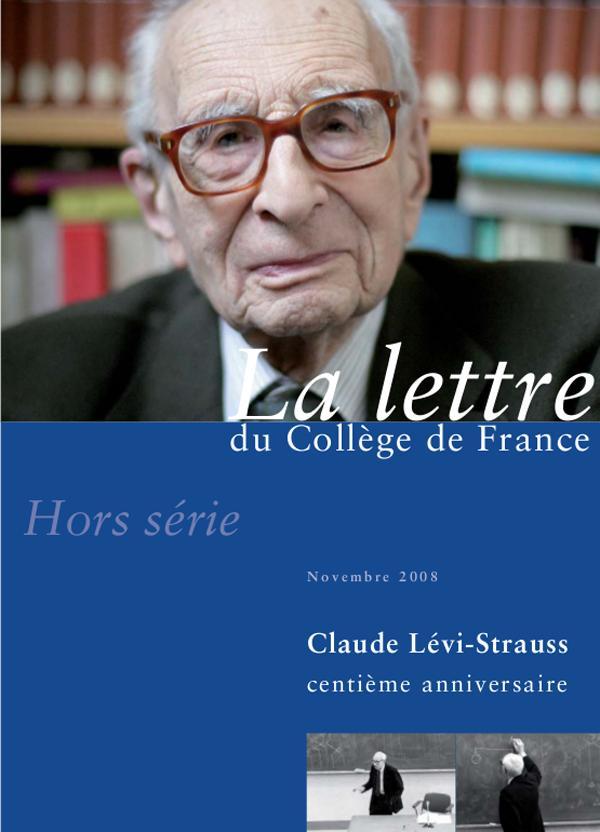 Hors-série 2 | 2008 - Claude Lévi-Strauss, centième anniversaire - lettre CDF
