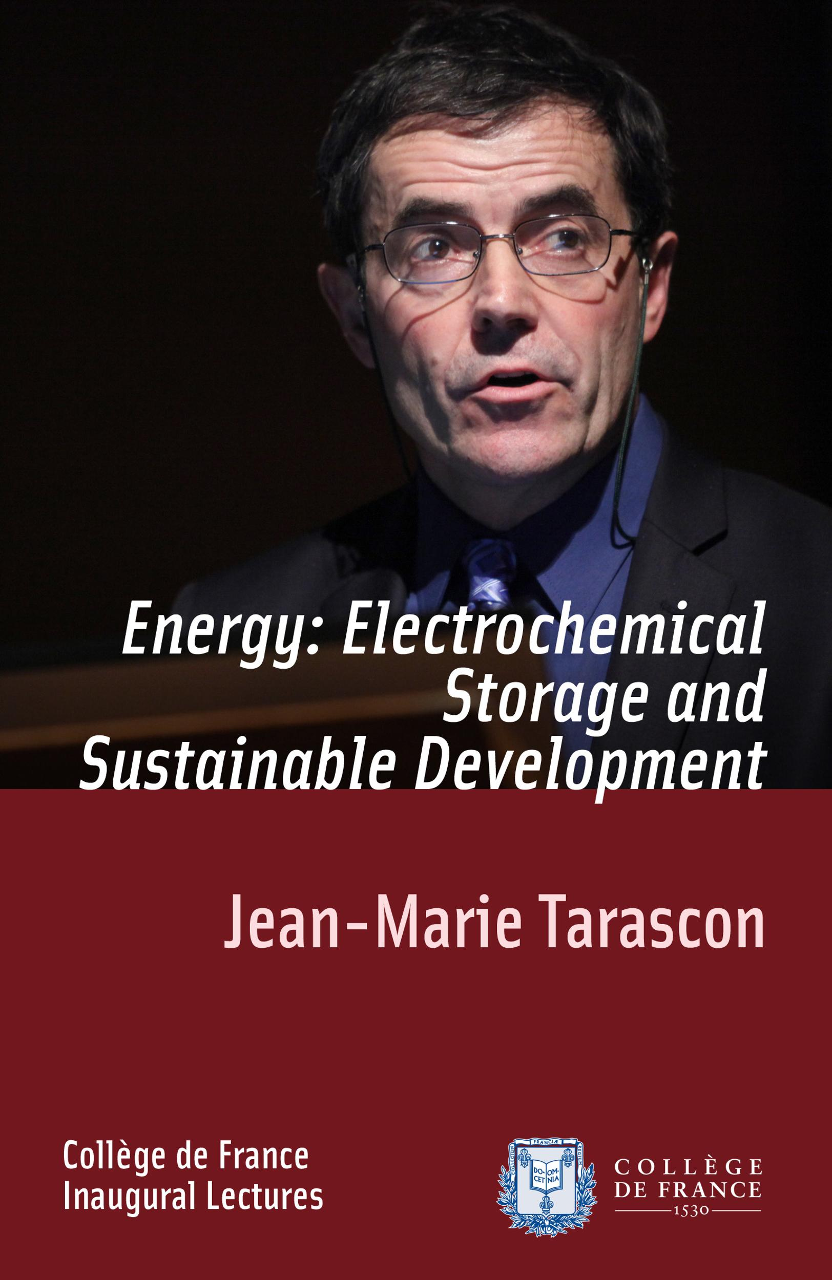 Energy: Electrochemical Storage and Sustainable Development, INAUGURAL LECTURE DELIVERED ON THURSDAY 9 DECEMBER 2010
