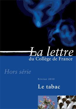 Hors-série 3 | 2010 - Le Tabac - lettre CDF