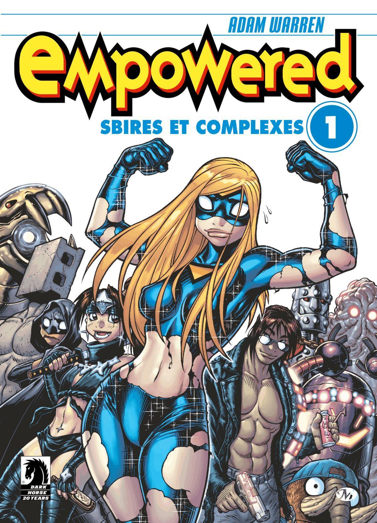 Empowered #1 : Sbires et complexes, EMPOWERED, T1
