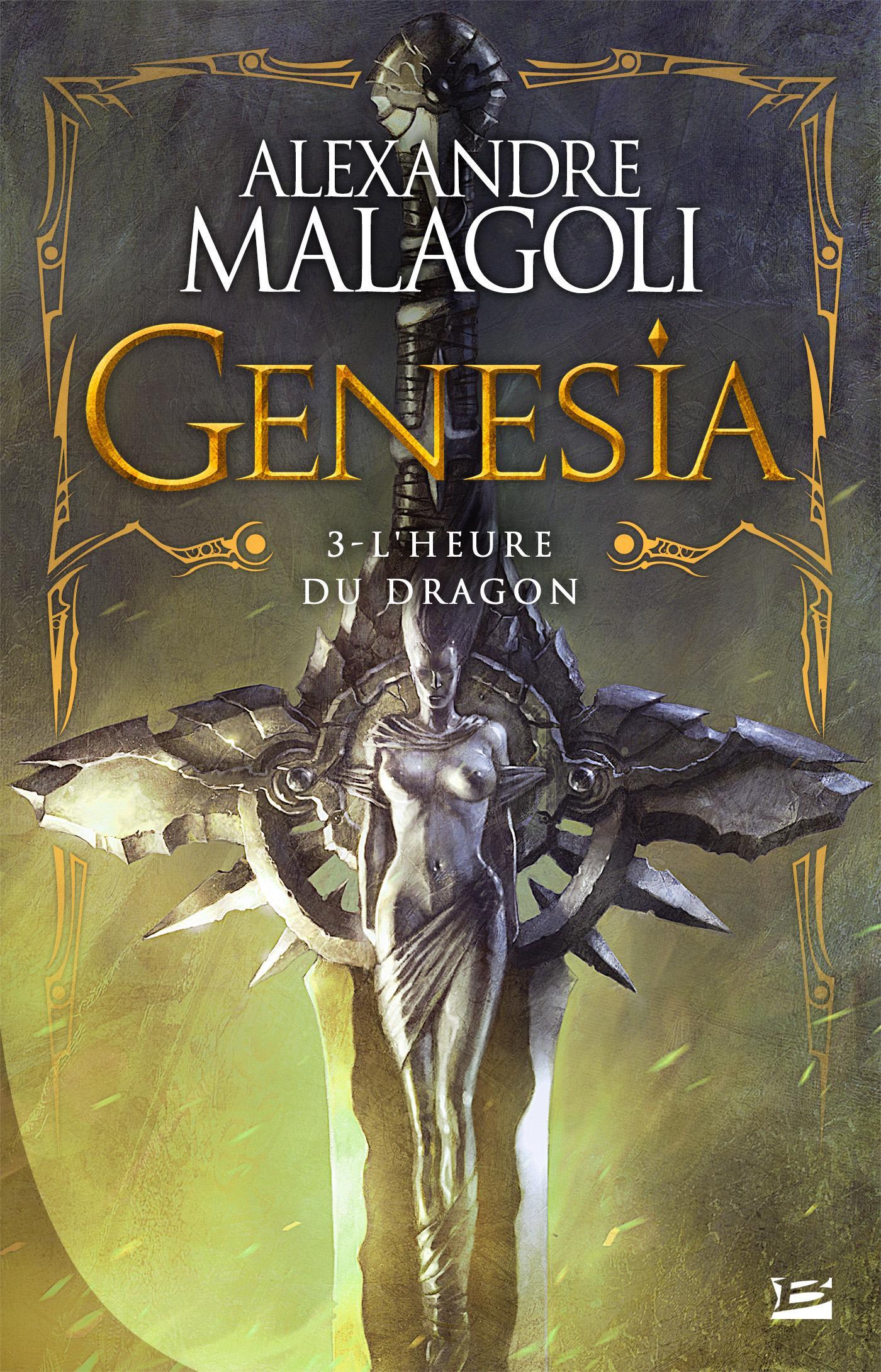 L'Heure du dragon, GENESIA - LES CHRONIQUES POURPRES, T3