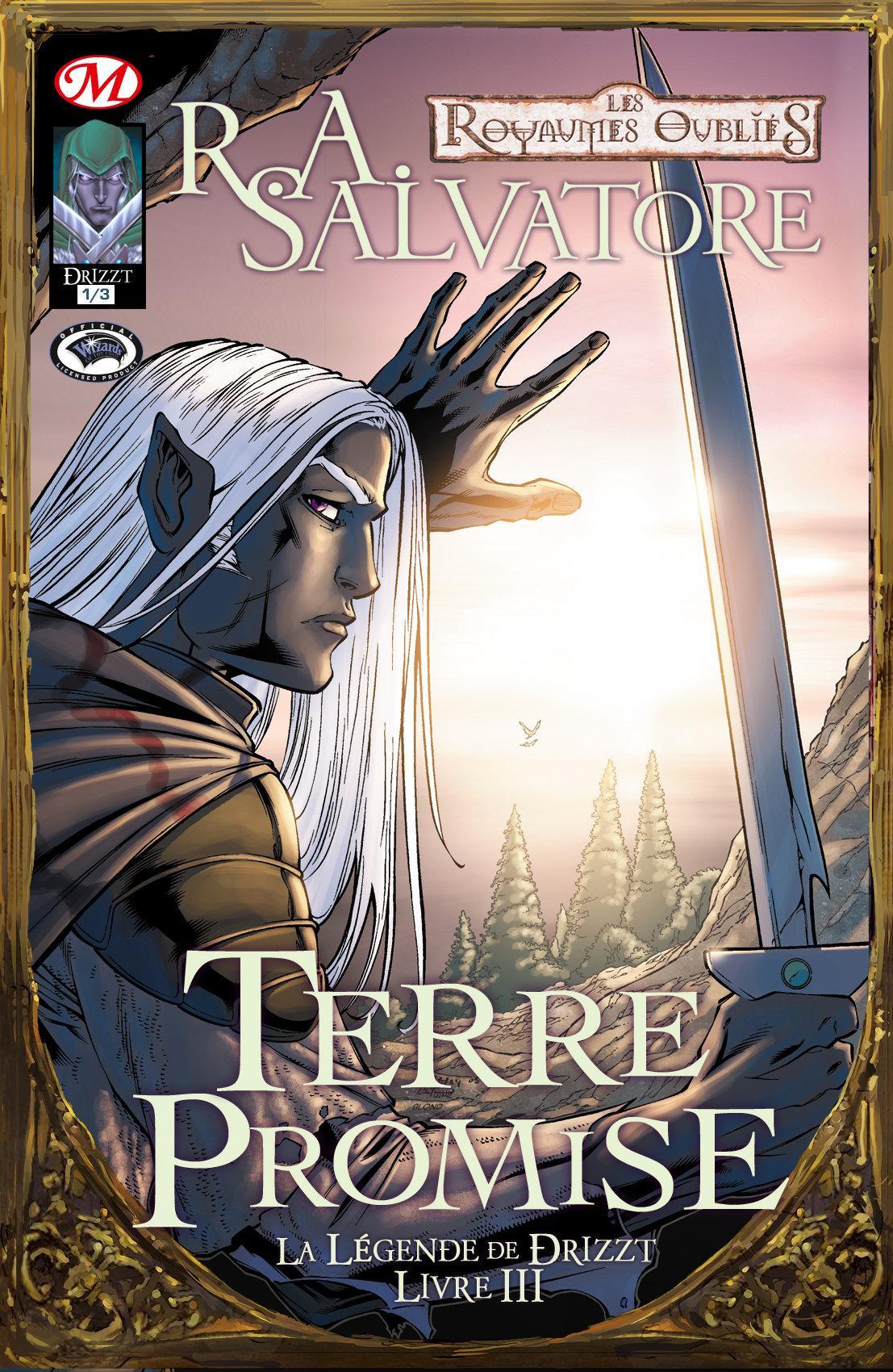 Terre promise 1/3, LA LÉGENDE DE DRIZZT, T3
