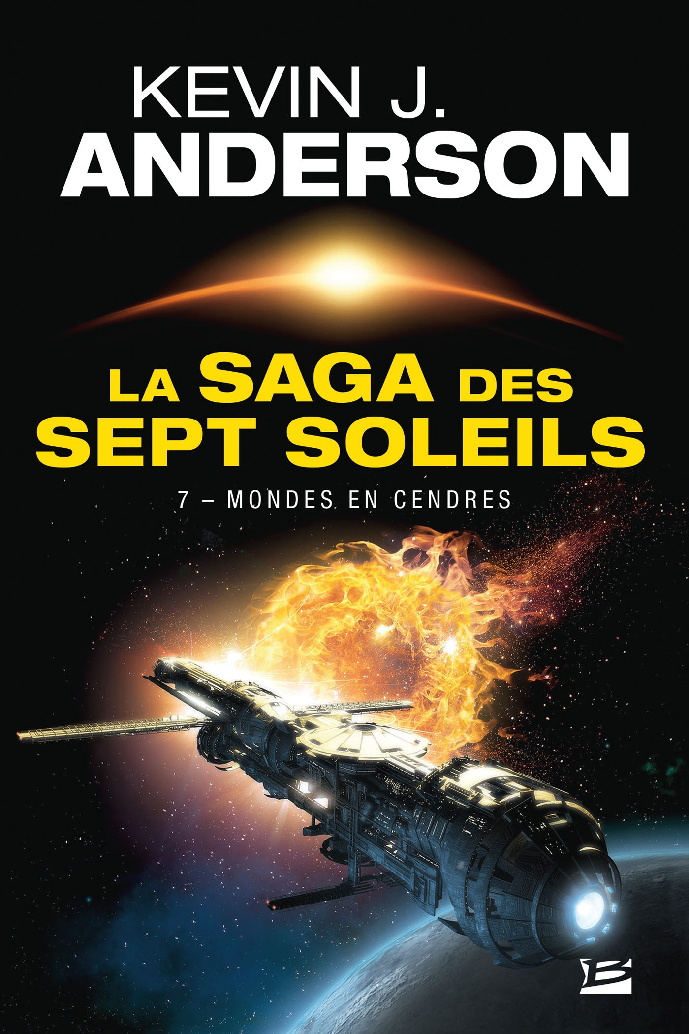 Mondes en cendres, LA SAGA DES SEPT SOLEILS, T7