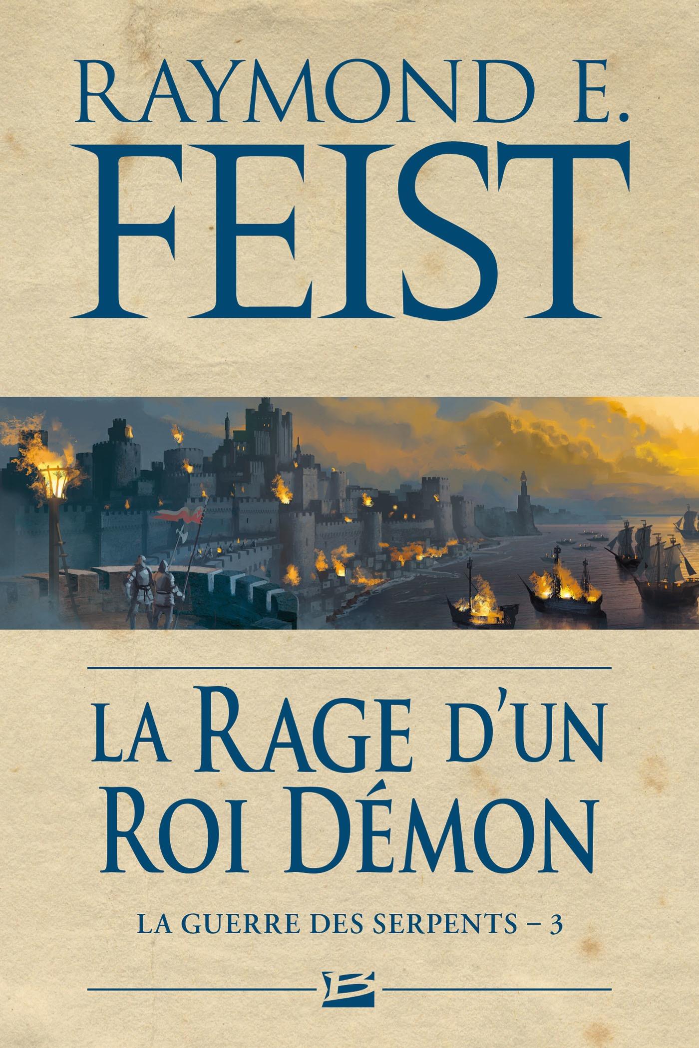 La Rage d'un roi démon, LA GUERRE DES SERPENTS, T3
