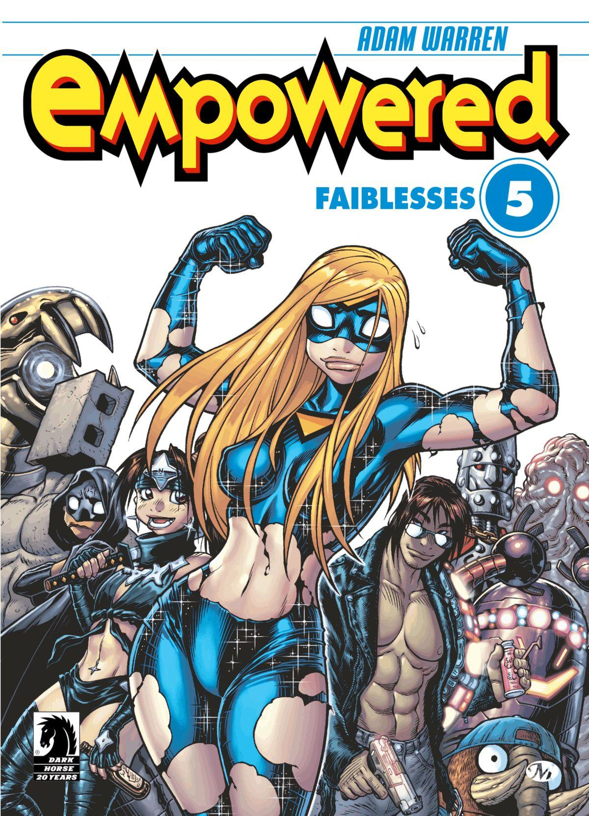 Empowered #5 : Faiblesses, EMPOWERED, T5