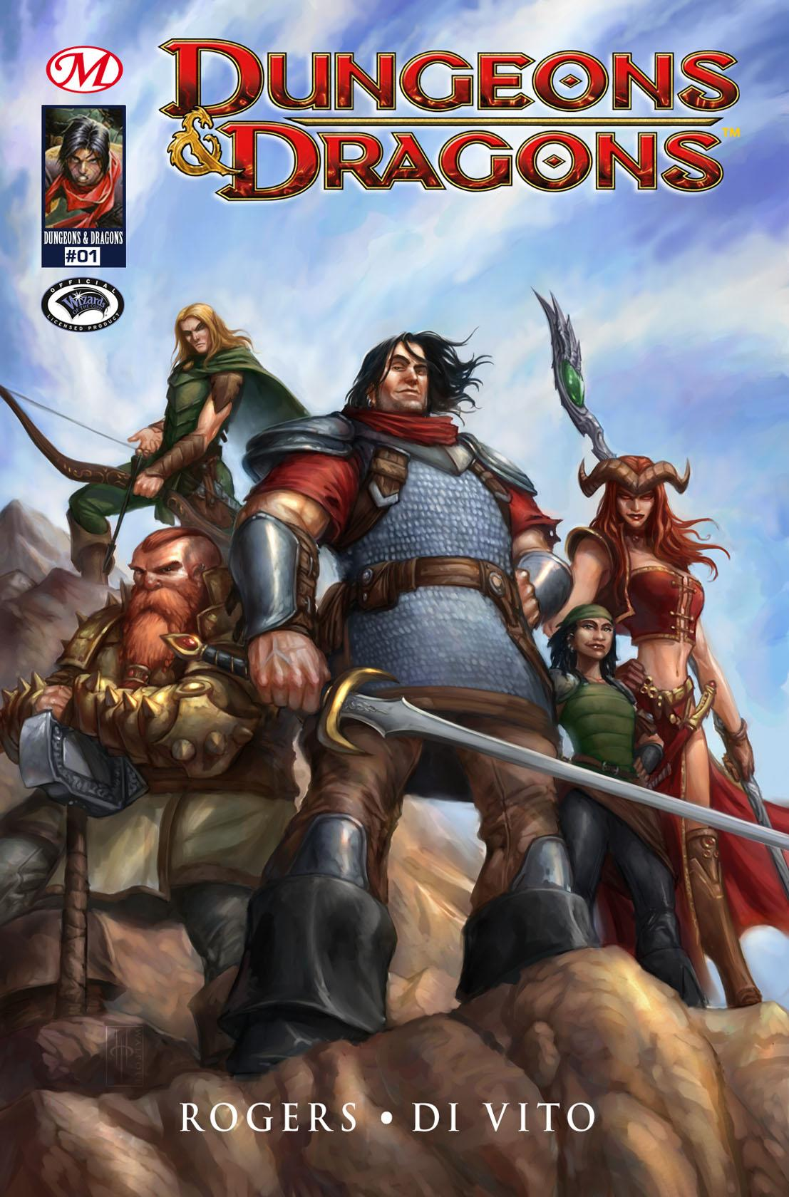 Dungeons & Dragons #1, DUNGEONS & DRAGONS, T1