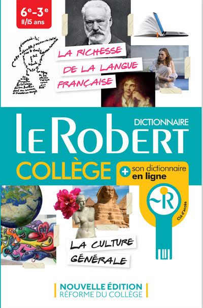 LE ROBERT COLLEGE + SON DICTIONNAIRE EN LIGNE