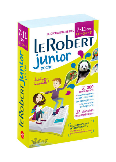 LE ROBERT JUNIOR POCHE 7-11 ANS