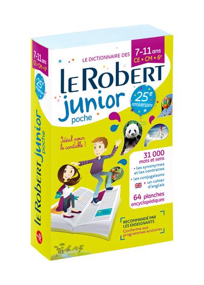 LE ROBERT JUNIOR POCHE 7-11 ANS - CE-CM-6EME