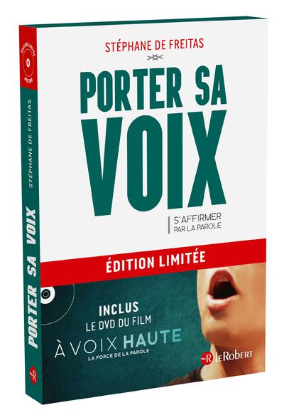 PORTER SA VOIX - LIVRE + DVD DU FILM - EDITION LIMITEE