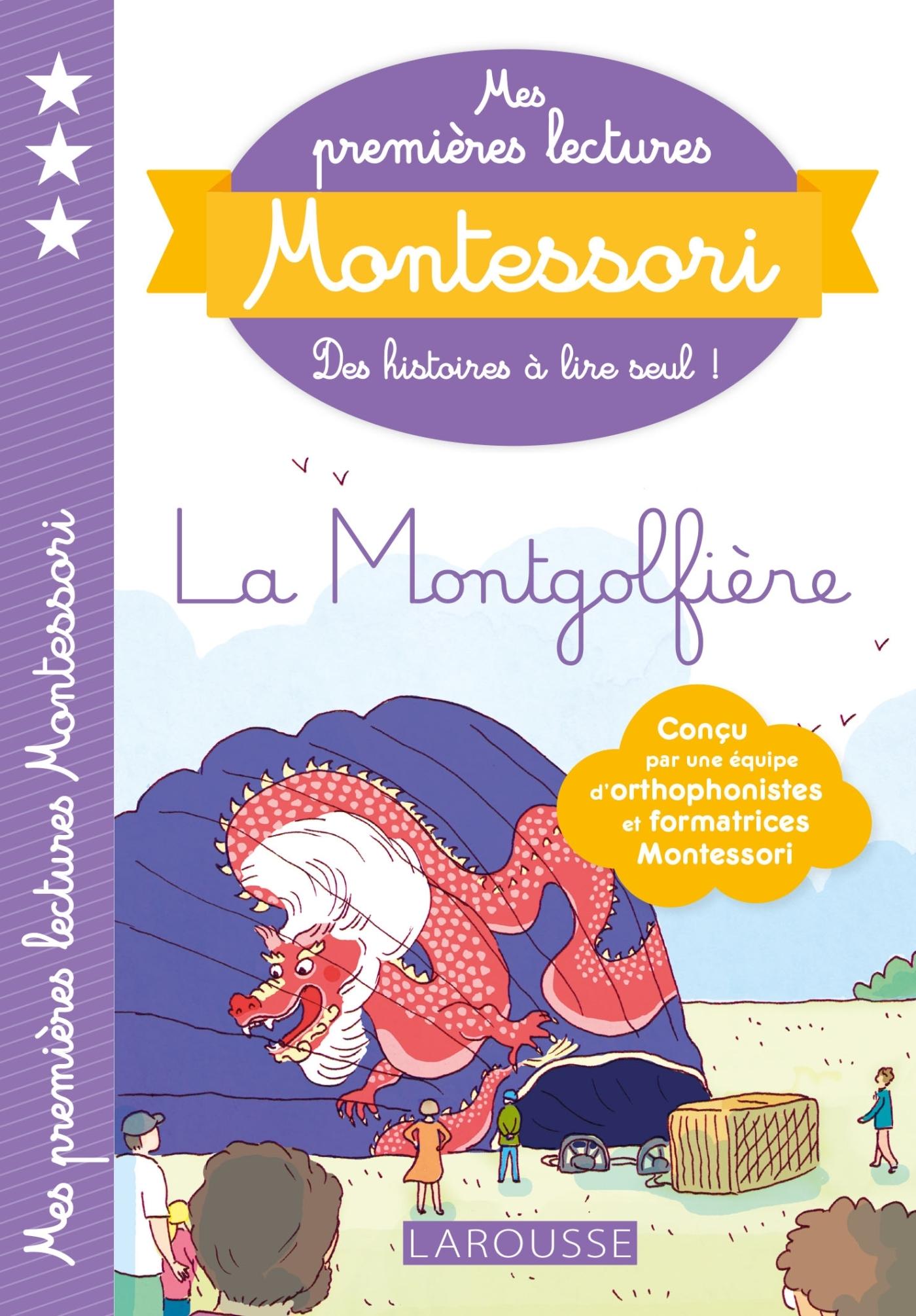 MES PREMIERES LECTURES MONTESSORI, LA MONTGOLFIERE