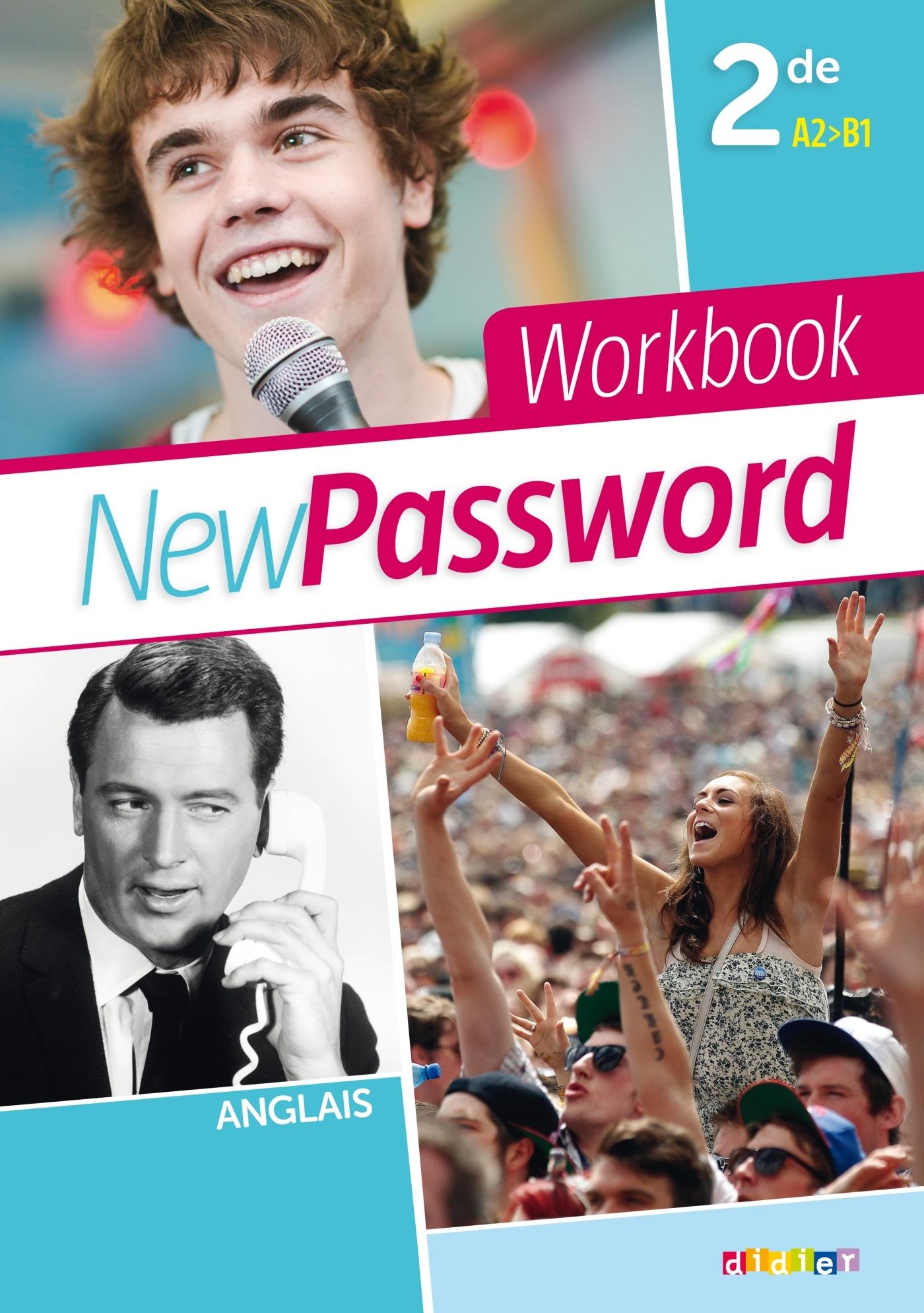 NEW PASSWORD ENGLISH 2DE - WORKBOOK VERSION PAPIER